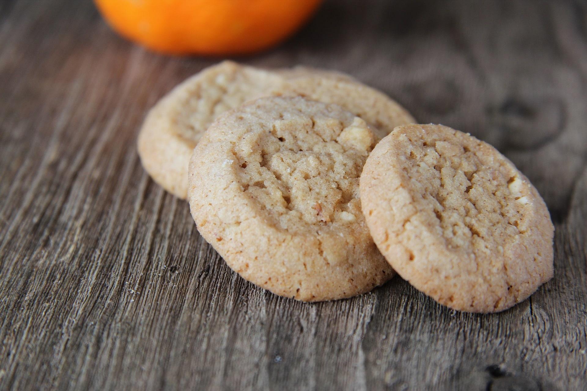 Einfache Kekse mit Öl